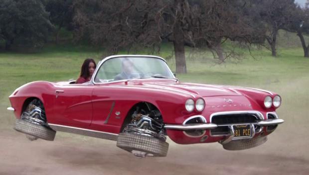 Coulson's corvette